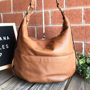 Michael Kors Bags - Michael Kors Fulton Acorn Leather Hobo Handbag